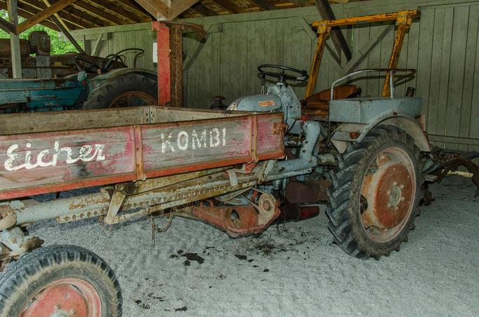 Historische Landmaschinen