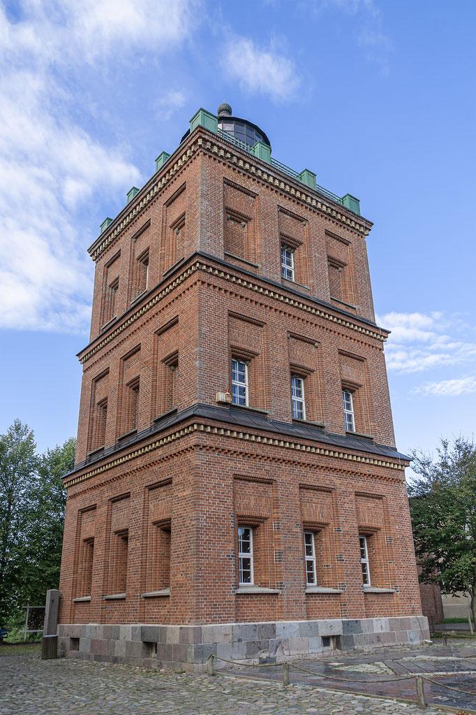 Schinkelturm, heute Museum, Standesamt und Aussichtsturm