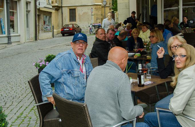Carmens Stadtcafe war am Bummeltag gut besucht