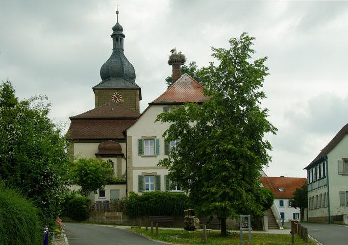 Schauerheim, Pfarrhauskamin
