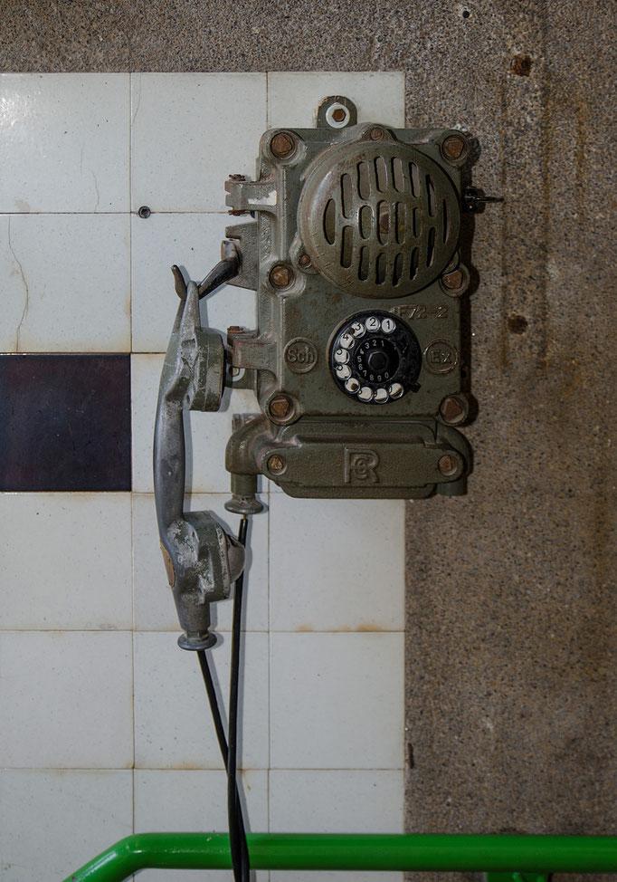 Exposionsgeschütztes Telefon