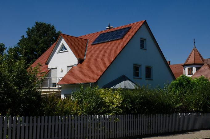 Solarthermie in Bad Windsheim, Mfr.