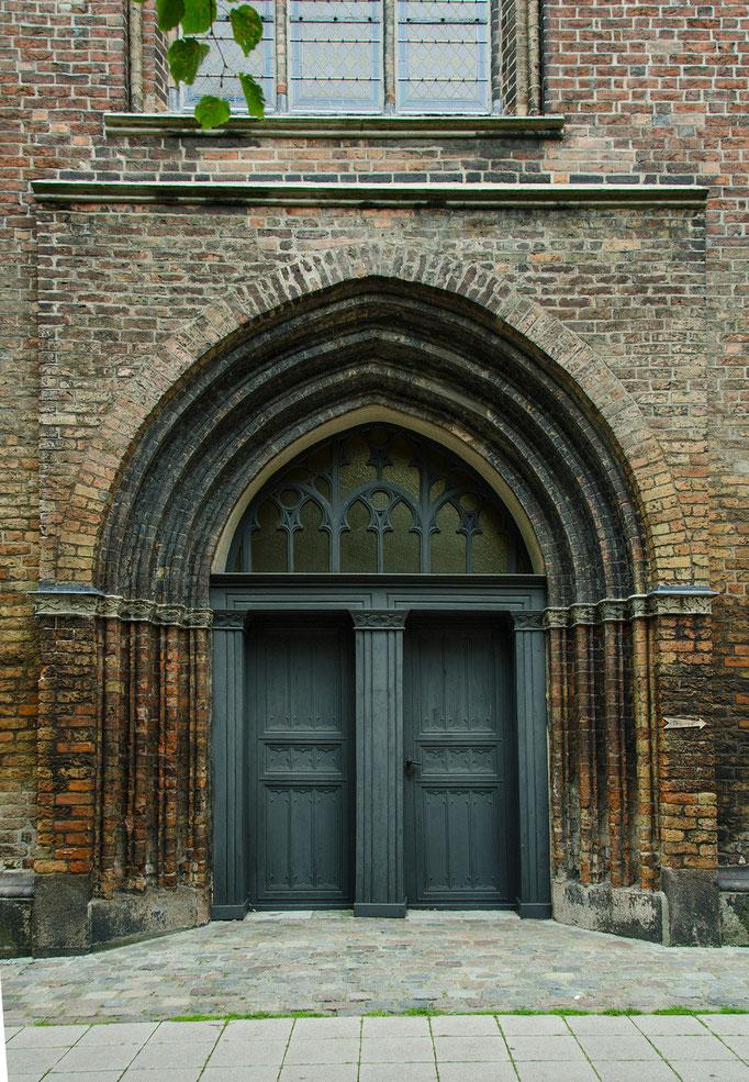 Hauptportal der Marienkirche