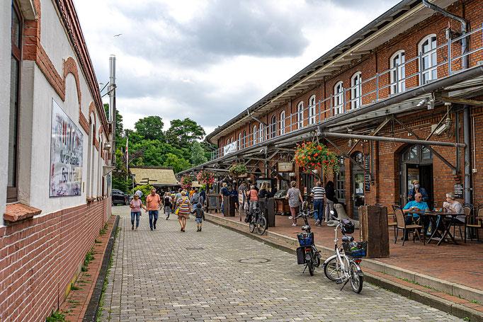 Gastronomie-Flachbau am Alten Hafen