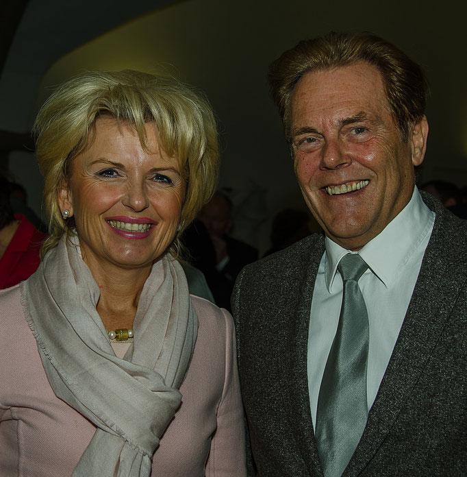 Unsere Landrätin: Frau Tamara Bischoff mit Ehemann Rainer