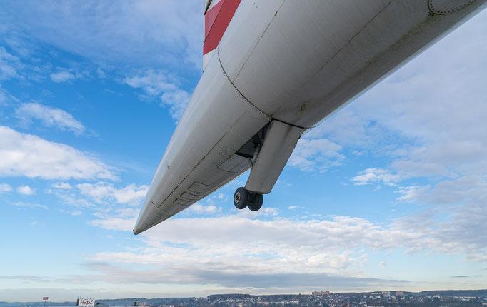 BAC Concorde 101/102, Heckfahrwerk