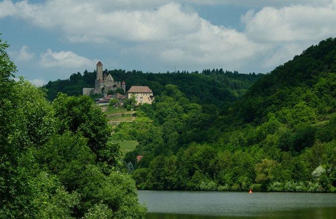 Burganlage Hornberg, der Alterssitz des Götz von Berlichingen