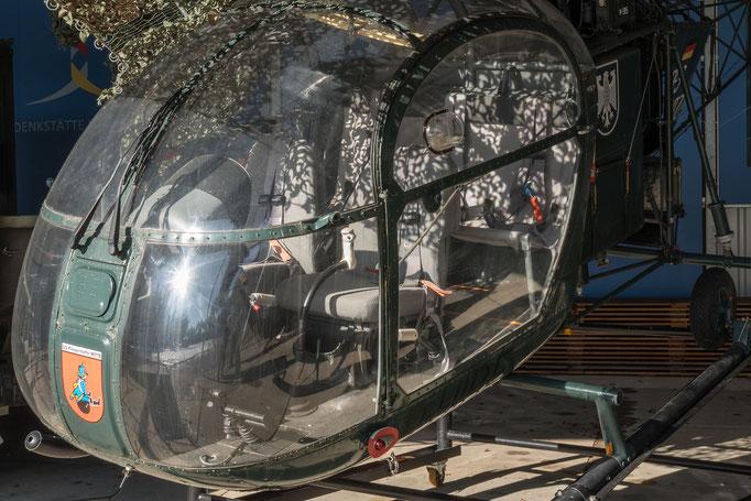 Hubschrauber vom Bundesgrenzschutz