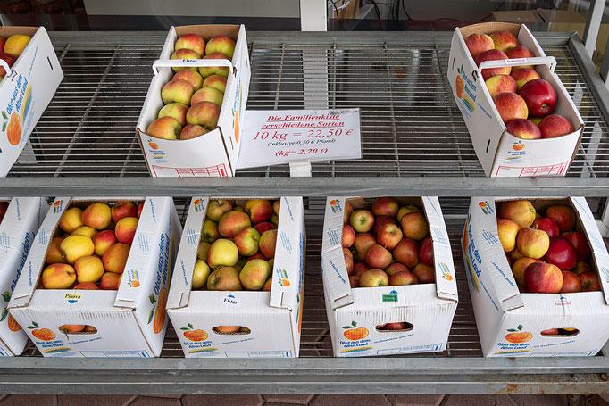 Äpfel, nichts als Äpfel