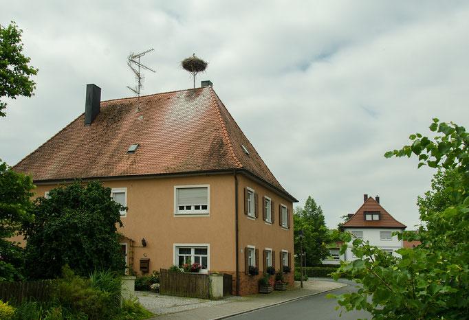 Dachsbach, Hausdach