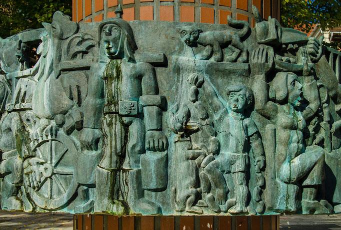 Brunnen an der Schlachterstraße