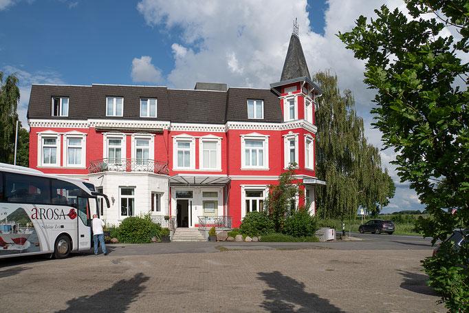 Das Hotel Peter, in der Wingst:  Es war von Montag bis Samstag unser Basislager