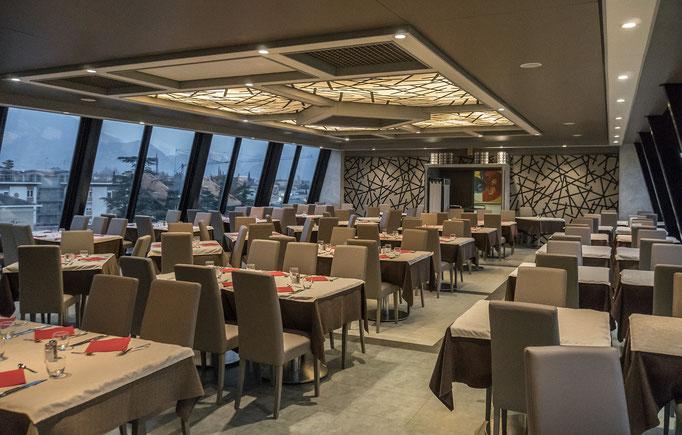 Der Speisesaal des Hotels