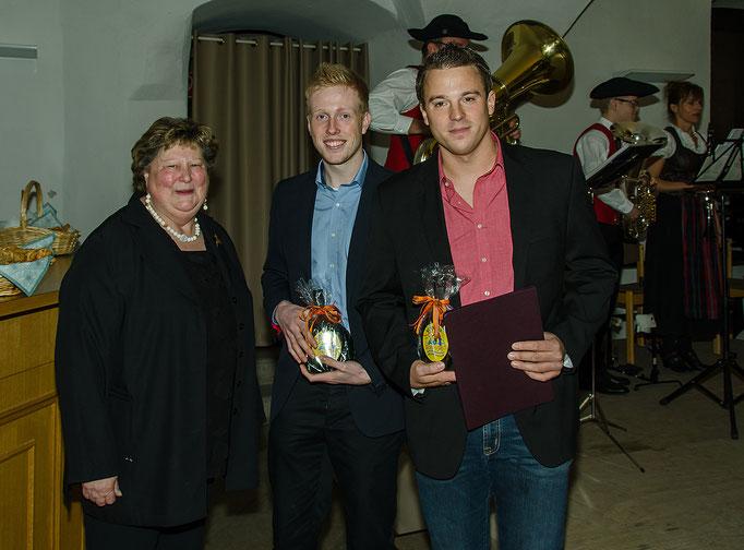 Jutta Wallrapp, Philip Heigl und Martin Köhler