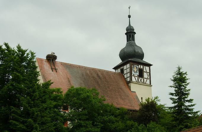 Reinhardshofen, Kirchendach