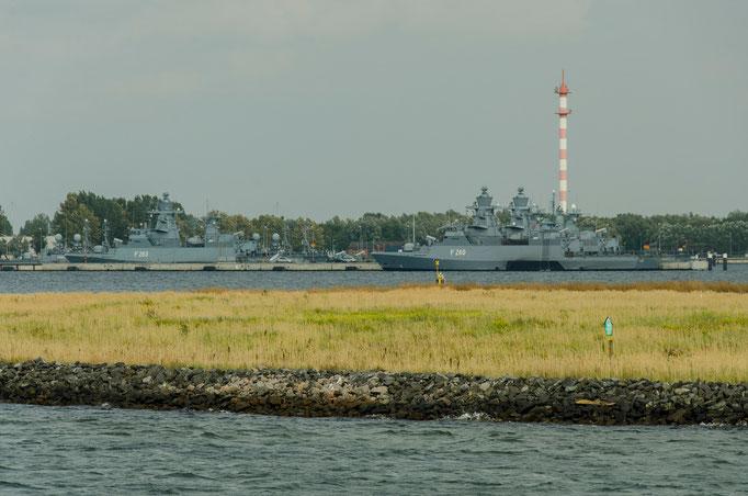 Stützpunkt der Bundesmarine, Heimat des 7. Schnellbootgeschwaders