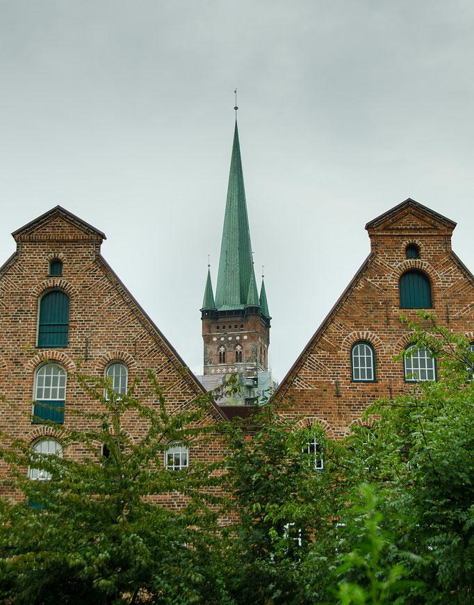 Die Fassaden der Salzhäuser