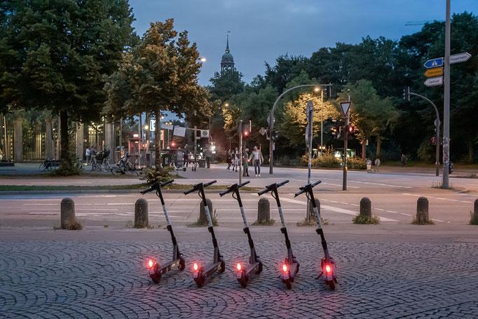 Rollerparkplatz am Millerntorplatz