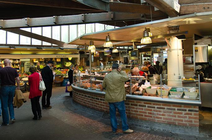 Rouen; Die Markthallen