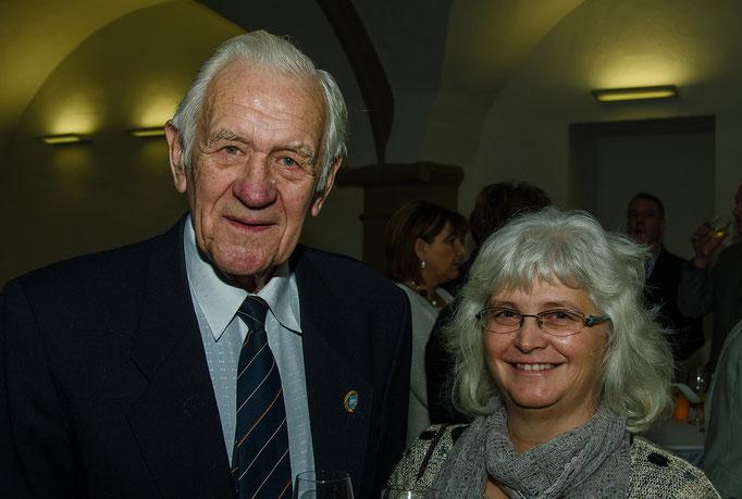 Erich Seifert und Frau Sabine Damme
