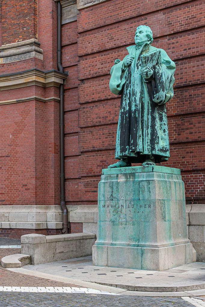 Denkmal des Reformators Dr. Martin Luther