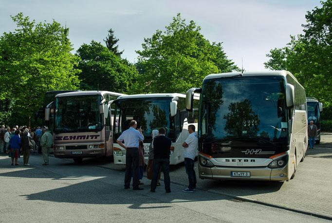 Die Unterfränkische Busflotte