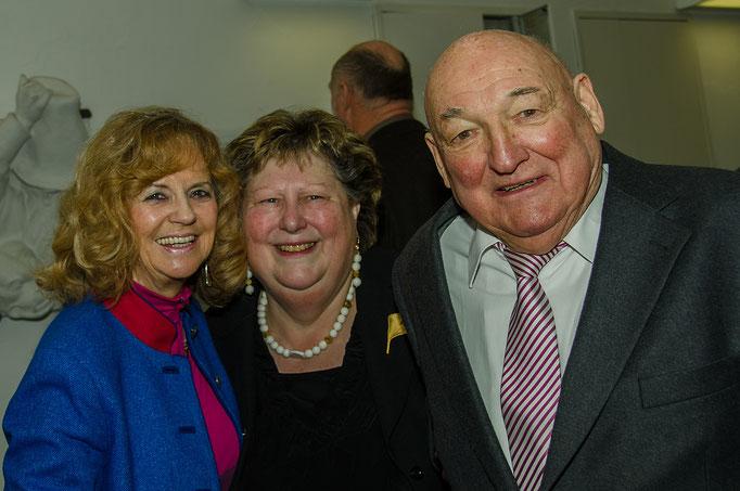 E.H. Greif, Jutta Wallrapp und Rudolf Schardt, Alt-Oberbürgermeister