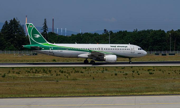 Iraqi Airways ist die staatliche Fluggesellschaft des Iraks mit Sitz in Bagdad und Basis auf dem Flughafen Bagdad.