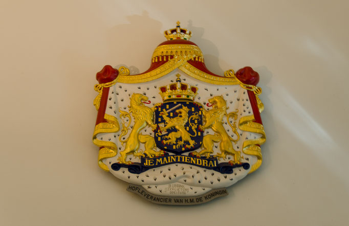 Palais Het Loo, Wappen eines Hoflieferanten
