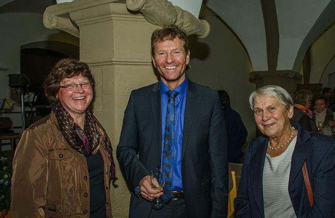 Irmgard Krammer, Günther Felbinger FW MdL und Barbara Wachter