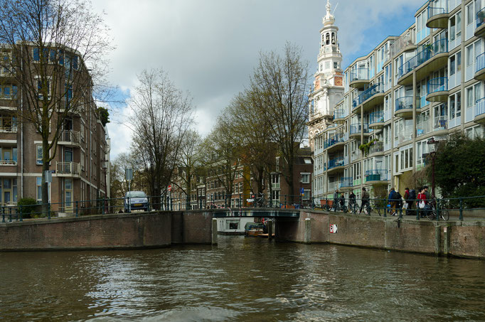 Grachtenrundfahrt in Amsterdam