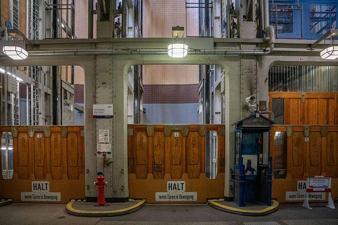 Eingang zu den Aufzügen