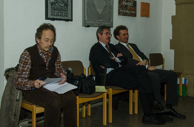Ralf Weiskopf (Presse),  Werner Katzenberger und Dietrich Hermann