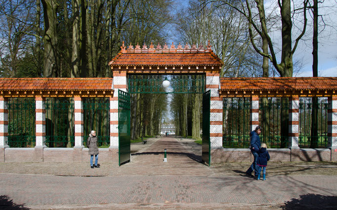 Palais Het Loo, Eingang zum Schloßbereich