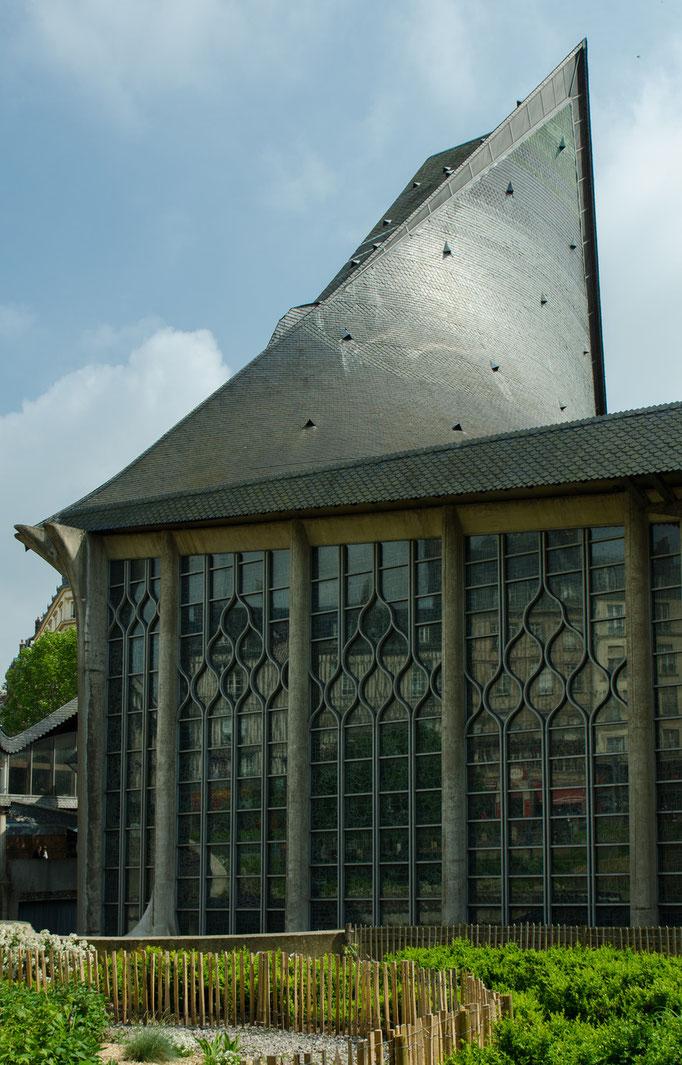 Rouen; Die Kirche der heiligen Jeanne d'Arc