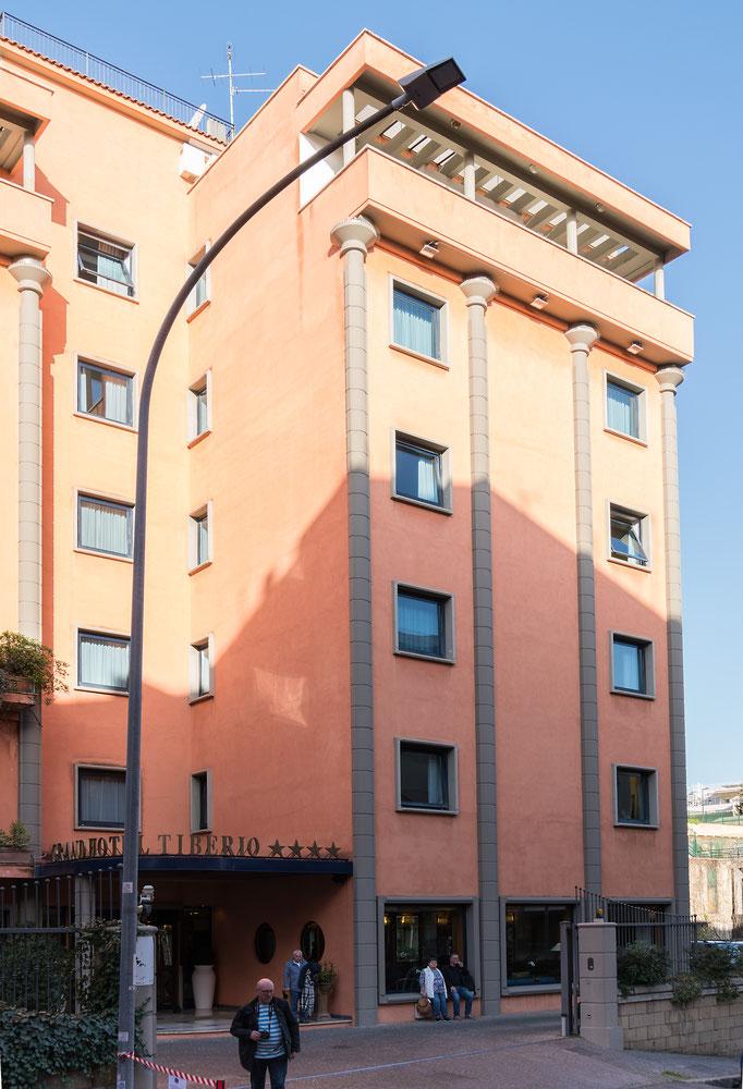Das Grand Hotel Tiberio in Rom