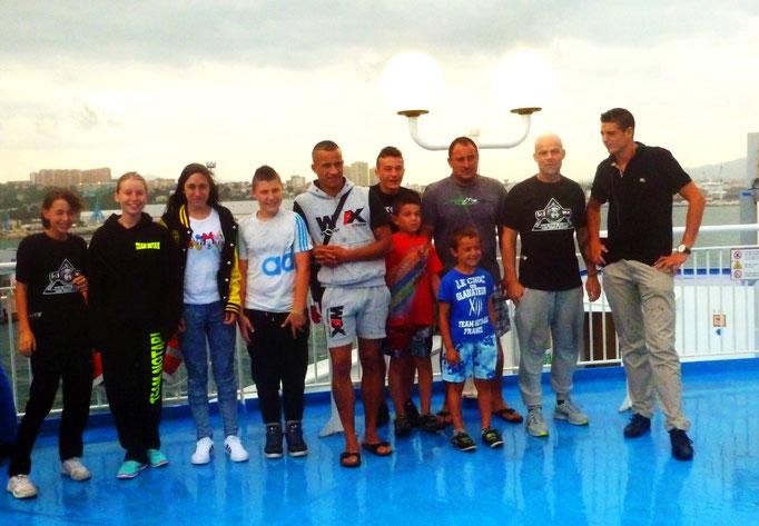 Le Team Notari Part en Corse