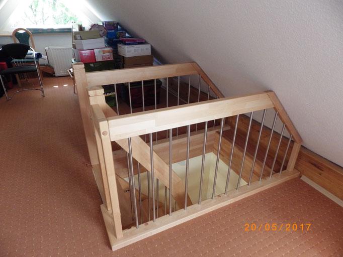 Thum-Brüstung Ansicht 01 Treppe 15