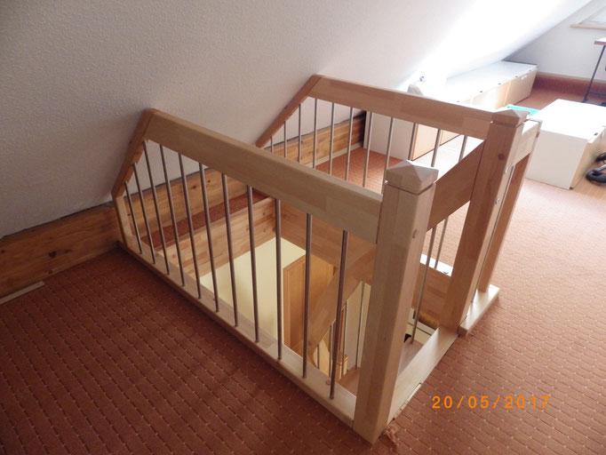 Thum-Brüstung Ansicht 02 Treppe 15