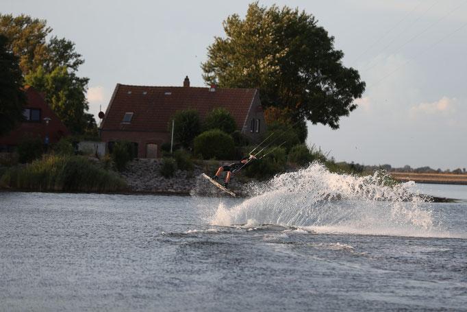 Wakeboarding, Wassersport, Actionsport, Fehmarn