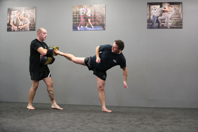Kampfsport, Kickboxen, Training, Selbsverteidung, Krefeld