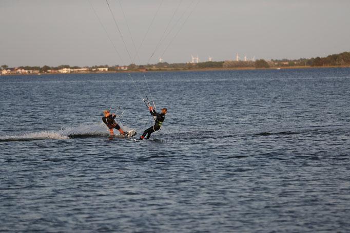 Kiteboarding, Kiten, Wassersport, Actionsport, Fehmarn
