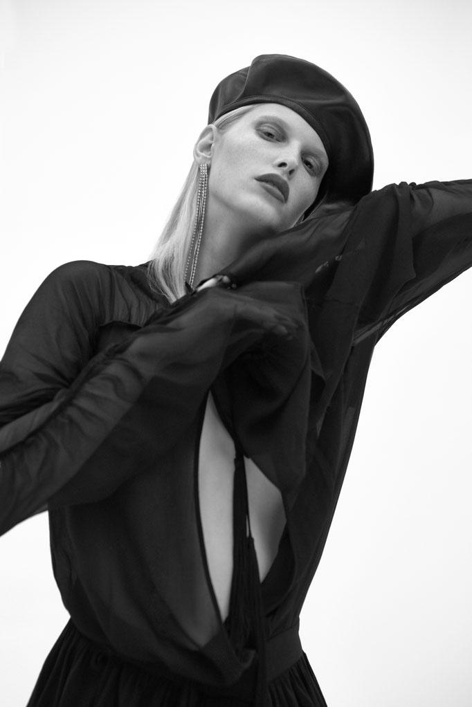 Fashion Edito Vogue Portugal by Branislav Simoncik photographer stylist Jan Kralicek model Niki Trefilova Focus Model Management hair by Andre Cueto Saavedra makeup by me Amélie Moutia