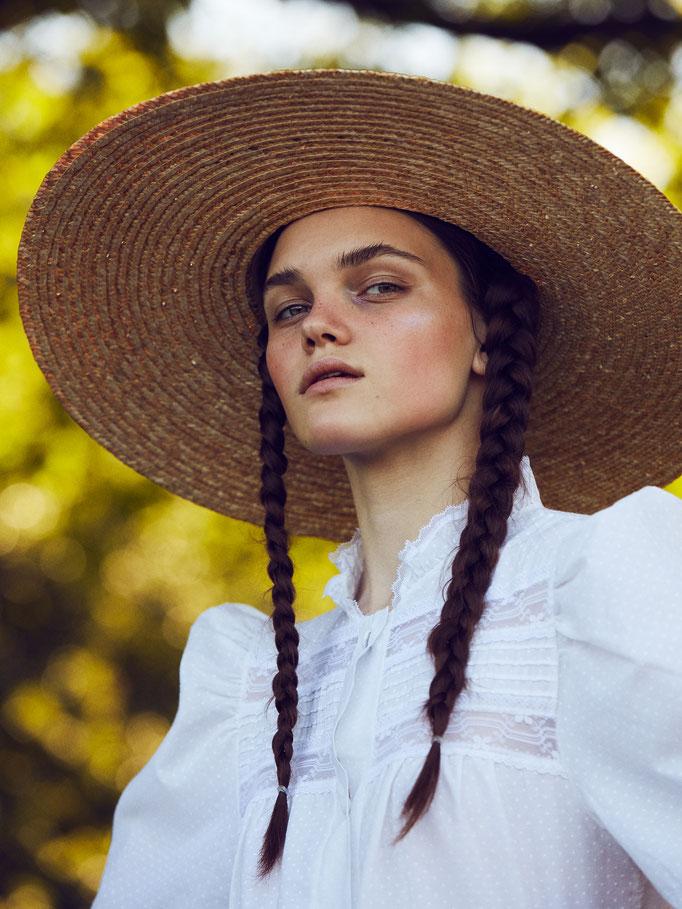 Photographe Thomas Babeau Styliste Barbara Ikkache Hair Nelson Model Vika