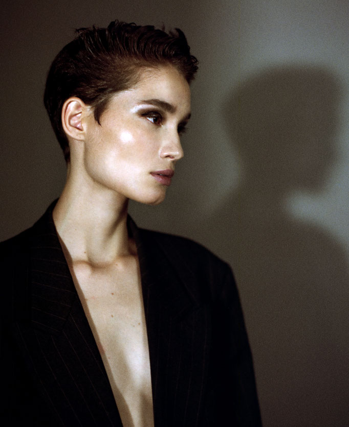 Katia André by Mathieu Rainaud Hair by Nelson