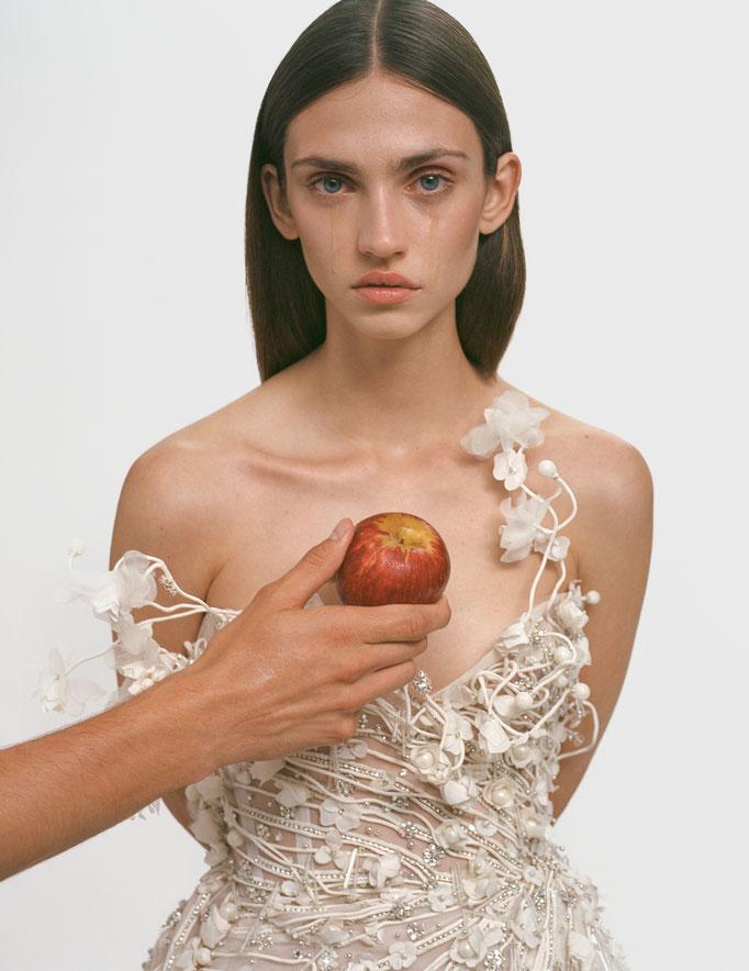 Vogue Czechoslovakia photographer Arseny Jabiev Art Director & stylist Jan Kralicek Model Krini Alejandra Hair Jacob Kajrup