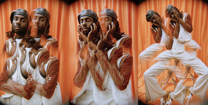 Russh Magazine with Blood Orange (Dev Hynes) by Edouard Plongeon Styling Anna Foster Assistant Clotilde Franceschi Mua Amelie Moutia