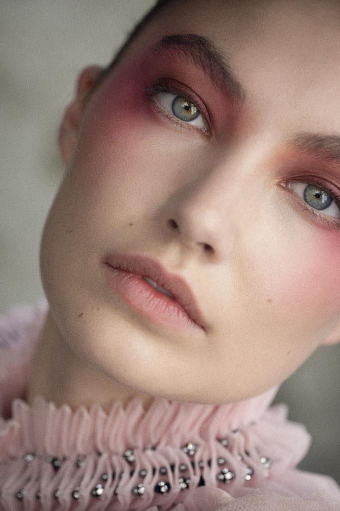 Flair Magazine Makeup Special Chanel Photographer Maeva Delacroix Hair Martyn Foss Calder Stylist Claire Sibille