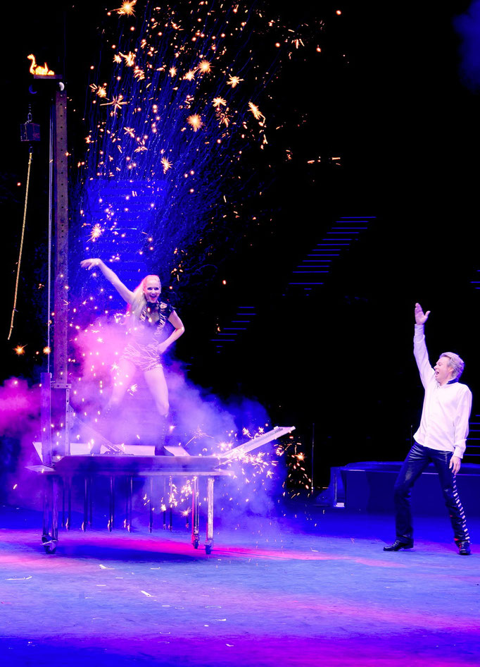 Peter Marvey, Chimelong International Circus Zhuhai/China