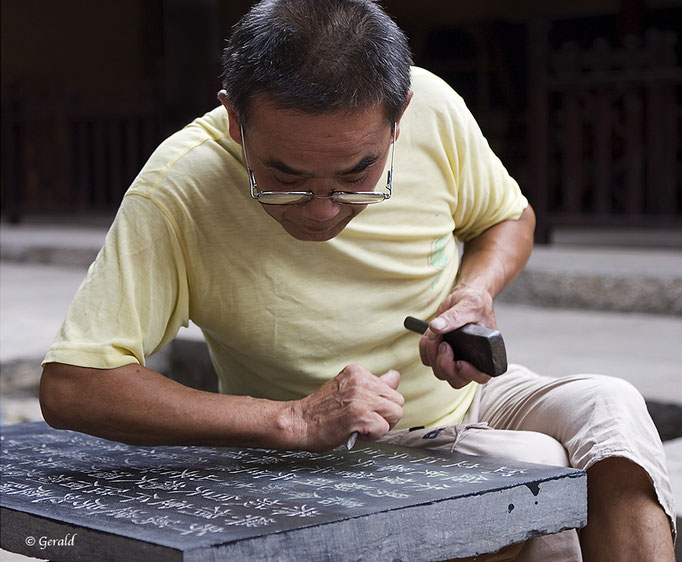 A Chinese craftsman